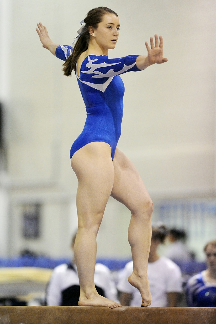 gymnastics, female, performance